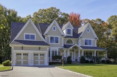 Scotch Plains Twp. Single Family Home For Sale: 1470 Terrill Rd