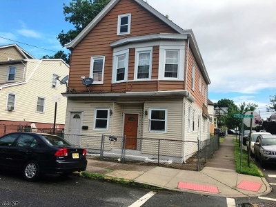 Paterson City Multi Family Home For Sale: 39-41 19th Ave