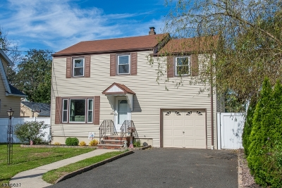Kenilworth Boro Single Family Home For Sale: 682 Richfield Ave