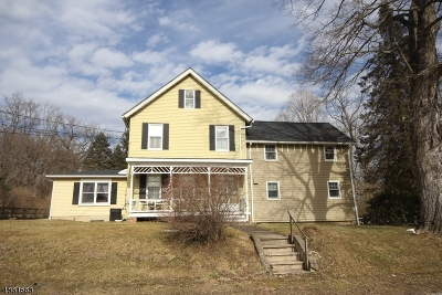 Hardyston Twp. Single Family Home For Sale: 199 Old Prospect School Rd