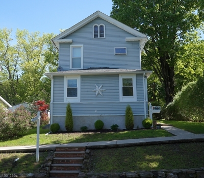 High Bridge Boro Single Family Home For Sale: 15 E Main St