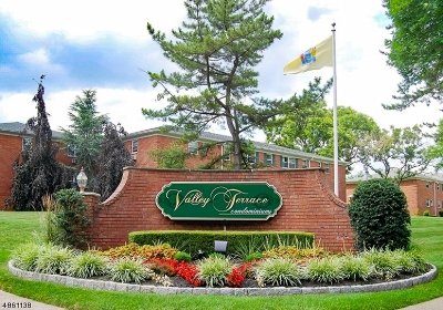 Wayne Twp. Condo/Townhouse For Sale: 43-2a Knox Ter #2A