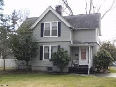 Fanwood Boro Single Family Home For Sale: 45 N Martine Ave