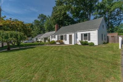 Cranford Twp. Single Family Home For Sale: 10 Heathermeade Pl
