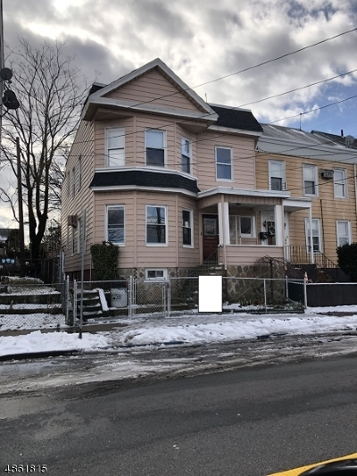Paterson City Multi Family Home For Sale: 392-394 20th Ave