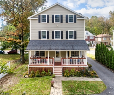 Morristown Town, Morris Twp. Condo/Townhouse For Sale: 9 Green St