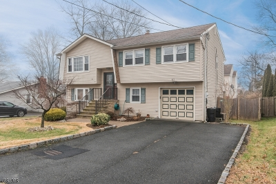 Parsippany Single Family Home For Sale: 51 Midvale Ave