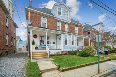 Morristown Town Single Family Home Sold: 4 Bellevue Ter