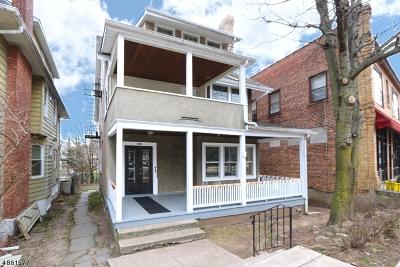 Montclair Twp. Multi Family Home For Sale: 305 Orange Rd