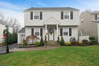 Nutley Twp. NJ Single Family Home For Sale: $460,000