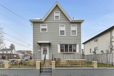 Paterson City Single Family Home For Sale: 347-349 6th Ave