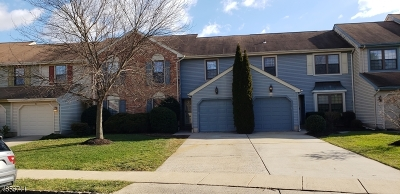 Hillsborough Twp. Condo/Townhouse For Sale: 6 Foxhill Ln
