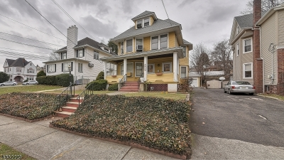 Passaic City Multi Family Home For Sale: 124 Meade Ave