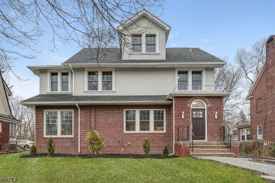 South Orange Village Twp. Single Family Home For Sale: 653 Cameron Rd