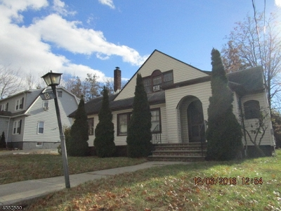 Paterson City Single Family Home For Sale: 8 Linden Rd