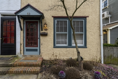 Lambertville City Single Family Home For Sale: 53 Ferry St