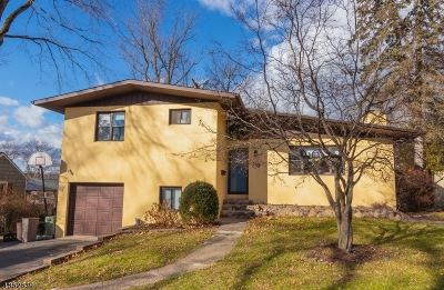 Parsippany-Troy Hills Twp. Single Family Home Active Under Contract: 55 Dayton Rd