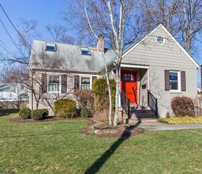 Fanwood Boro Single Family Home For Sale: 202 Vinton Cir