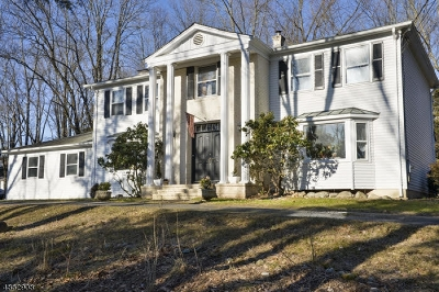 Readington Twp. Single Family Home For Sale: 649 Old York Rd