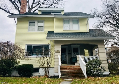 Morristown Town Rental For Rent: 24 Olyphant Dr