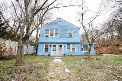 Summit Multi Family Home For Sale: 742 Springfield Ave(Rear)