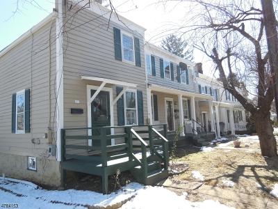 Hunterdon County Multi Family Home For Sale: 28-32 Halstead St