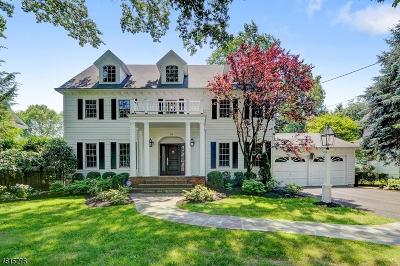 Westfield Town NJ Single Family Home For Sale: $1,349,000