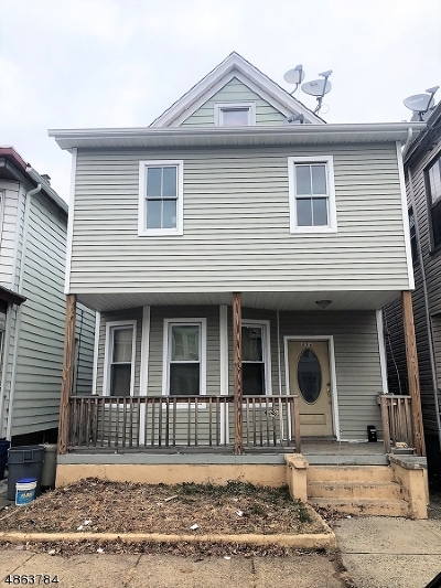 Passaic City Multi Family Home For Sale: 436 Gregory Ave