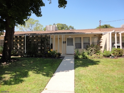 South Brunswick Twp. Condo/Townhouse For Sale: 20 New #6A