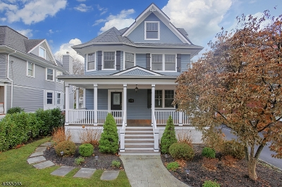 Westfield Town NJ Single Family Home For Sale: $1,224,000