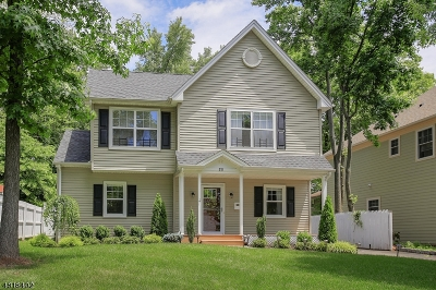 Westfield Town NJ Single Family Home For Sale: $679,000