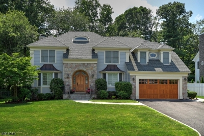 Westfield Town NJ Single Family Home For Sale: $1,530,000