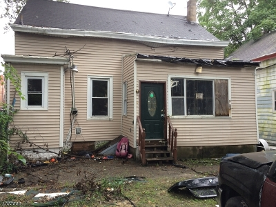 Paterson City Single Family Home For Sale: 12-16 Hopper St