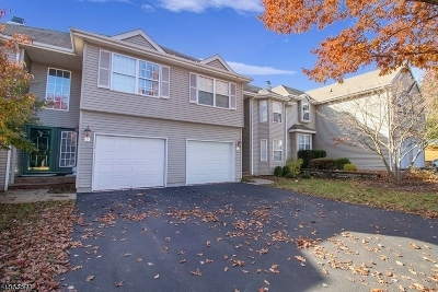 Hunterdon County Condo/Townhouse For Sale: 14 Spring Brook Dr