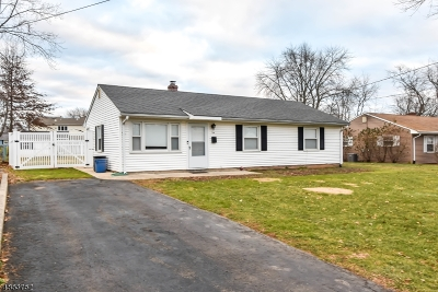 Bridgewater Twp. Single Family Home For Sale: 104 Adamsville Rd