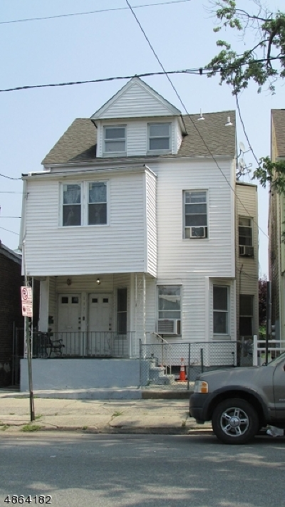 Paterson City Multi Family Home For Sale: 117 Madison Ave