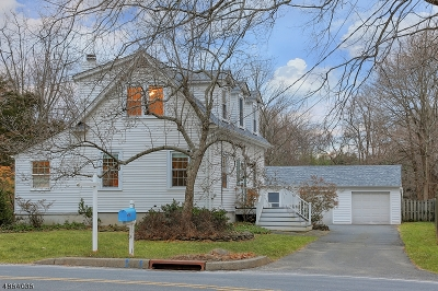 Somerset County Single Family Home For Sale: 14 Old Stirling Rd