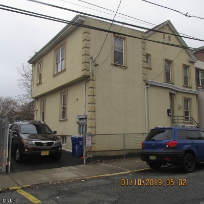 Paterson City Multi Family Home For Sale: 288 Atlantic St