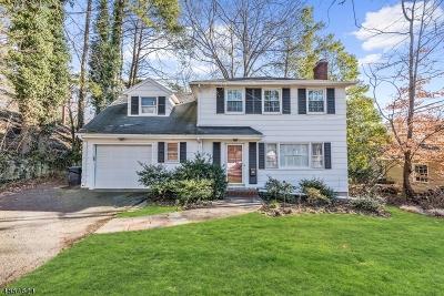 Millburn Twp. Single Family Home For Sale: 60 Pine Terrace East