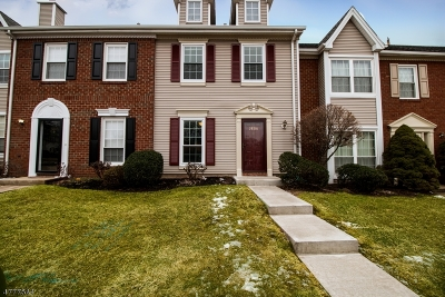 Somerset County, Morris County Condo/Townhouse For Sale: 3806 Graham Ct
