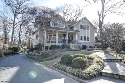 Chatham Twp. Single Family Home For Sale: 21 Dale Dr