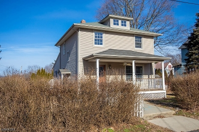 Hamburg Boro Single Family Home For Sale: 10 Governor Haines St