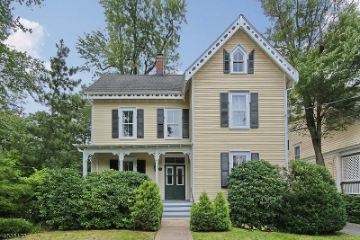 Summit Single Family Home For Sale: 18 Prospect St