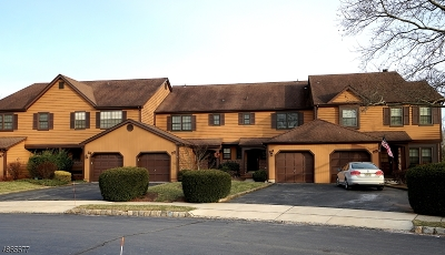 Hillsborough Twp. Condo/Townhouse For Sale: 24 Manor Dr