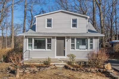 Byram Twp. Single Family Home For Sale: 23 Frenches Grove Rd