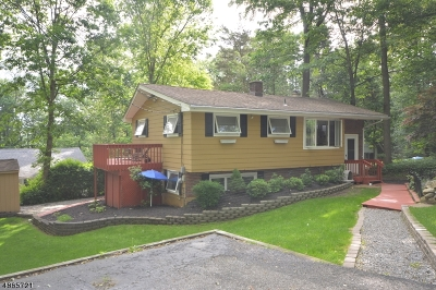 Byram Twp. Single Family Home For Sale: 39 Sherwood Forest Dr