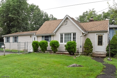 Parsippany Single Family Home For Sale: 167 Hiawatha Blvd