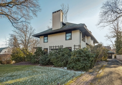 South Orange Village Twp. Single Family Home For Sale: 250 Tillou Rd