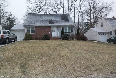 West Caldwell Twp. Single Family Home Sold: 14 Oakland Ave