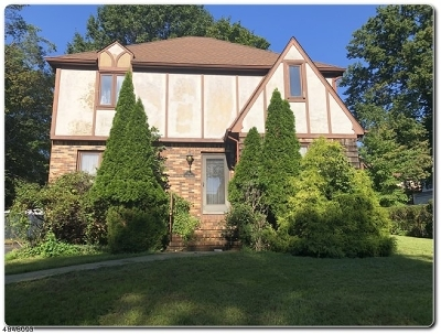 West Orange Twp. Single Family Home For Sale: 247 Gregory Ave